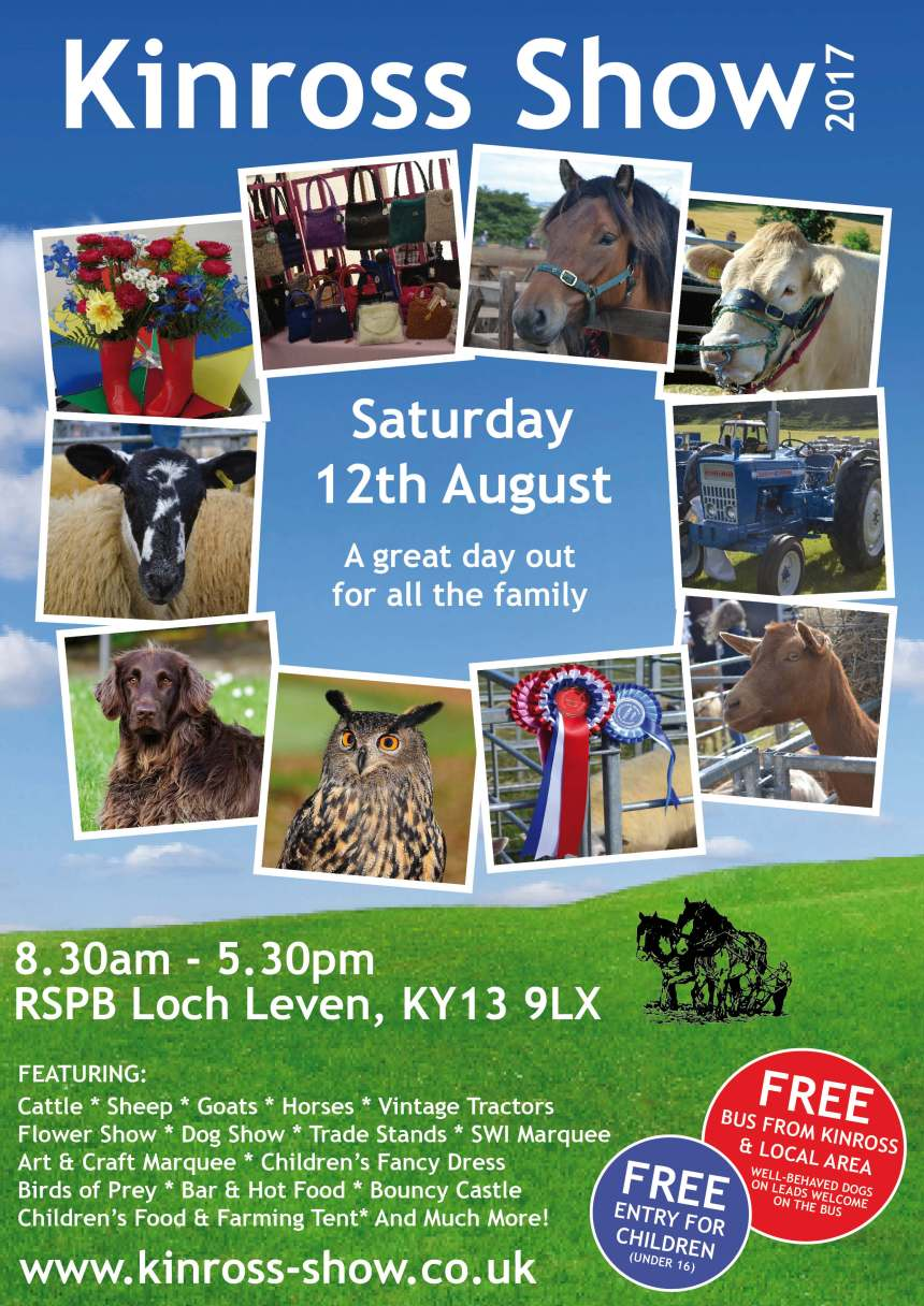 Kinross Show Poster 2017 LOW